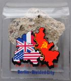 Piece of Berlin Wall in acryl